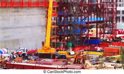 Tilt Shift Construction Area One - Tilt Shift Construction...