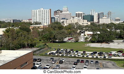 Time Lapse Orlando Skyline Three - Time Lapse Orlando...