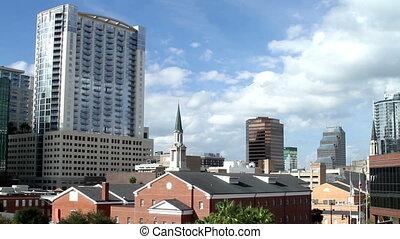 Time Lapse Orlando Skyline