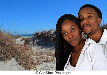 Couple At Beach