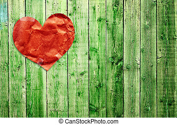 Valentine background - Grunge valentine background with...
