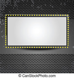screen banner - Movie background. Vector illustration