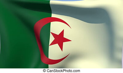 Flag of Algeria - Flags of the world collection