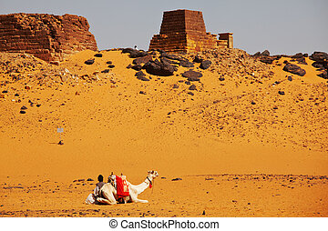 Pyramid in Sudan - Meroe pyramids in Sudan