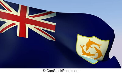 Flag of Anguilla - Flags of the world collection