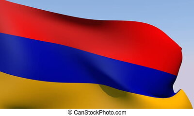 Flag of Armenia - Flags of the world collection