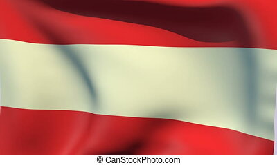 Flag of Austria - Flags of the world collection