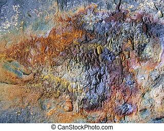 Rust on Breakwall - Rust on breakwall, Swansea