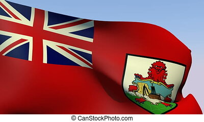 Flag of Bermuda - Flags of the world collection