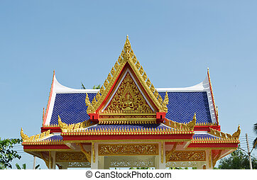 old Temple Wat Yai Chai Mongkhon of Ayuthaya Province...