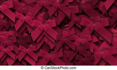 red bow-knot background,chrismas & holiday decoration.