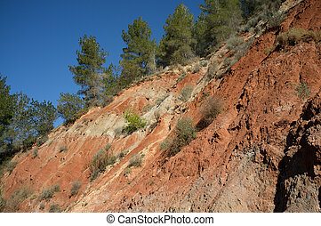 Erosion - The effects of erosion on deforested soil