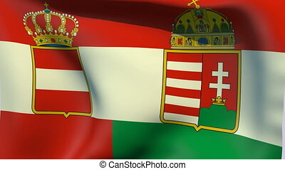Flag of Austria-Hungary 1869-1918