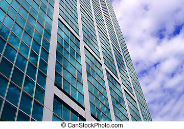 City Building 2 - The blue sky reflecting off the glass...