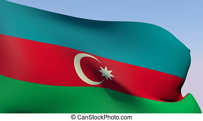 Flag of Azerbaijan - Flags of the world collection