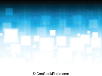 Vibrant vector background with squares