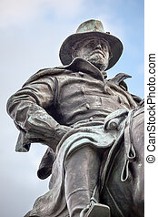 US Grant Statue Civil War Memorial Capitol Hill Washington...