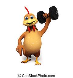 Kurczak, litera