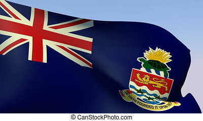 Flag of Cayman Islands - Flags of the world collection -...