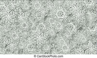 snowflake as chrismas background.