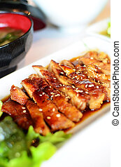 Teriyaki Grilled Chicken - Japanese Food