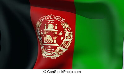 Flag of Afghanistan - Flags of the world collection -...