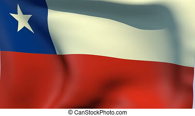 Flag of Chile - Flags of the world collection - Chile