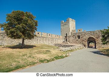 Belgrade - BELGRADE, SERBIA - AUGUST 15: Entrance to...