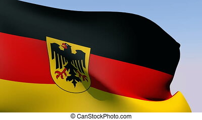 Flag of Germany - Flags of the world collection - Germany