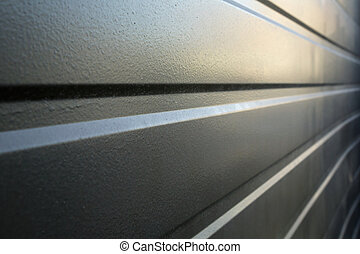 Formed Metal wall Perspective - Formed Metal wall in...