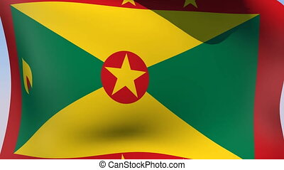Flag of Grenada - Flags of the world collection - Grenada