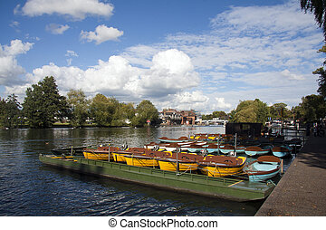 The River Thames at Windsor, Berkshire
