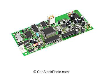 Scanner motherboard