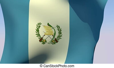 Flag of Guatemala - Flags of the world collection -...