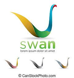 schwan, Ikone