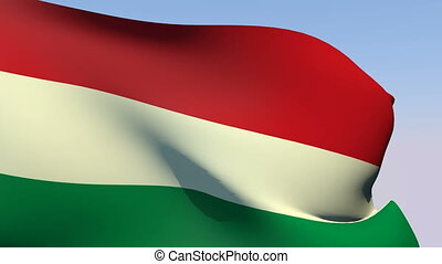Flag of Hungary - Flags of the world collection - Hungary