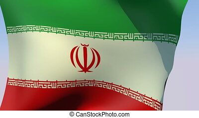 Flag of Iran - Flags of the world collection - Iran