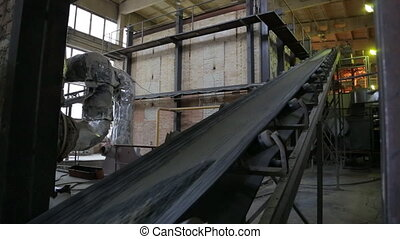 production of heat insulation