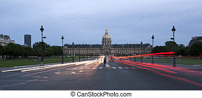 Les Invalides (The National Residence of the Invalids) at...