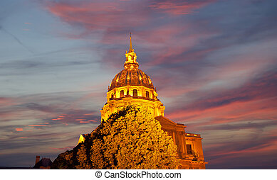 Les Invalides The National Residence of the Invalids at...