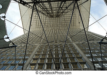 La Grande Arche La Defense, commercial and business center...