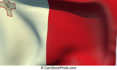 Flag of Malta - Flags of the world collection - Malta