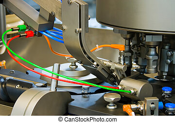 Production of medicines, part of a machine - Production of...