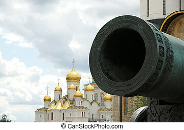The Tsar Cannon, Moscow Kremlin, russia