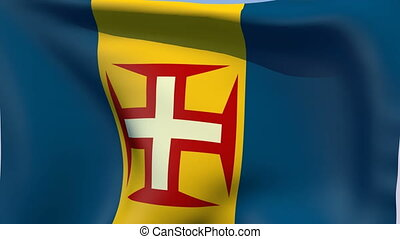 Flag of Madeira - Flags of the world collection - Madeira