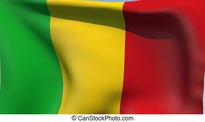 Flag of Mali - Flags of the world collection - Mali