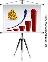 business roller screen