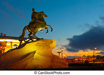 Monument of Peter the First in Saint Petersburg - Monument...