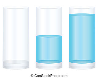 Half full glass Illustrations and Clip Art. 489 Half full ...