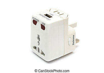 Universal Power Adapter - An universal power adapter on...